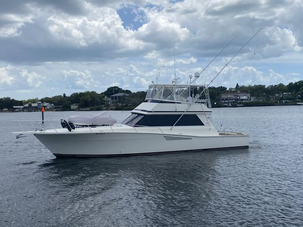 Used Viking 53 Saltwater Fishing Boat For Sale