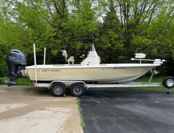 Used Key West 230 BR Center Console Fishing Boat For Sale
