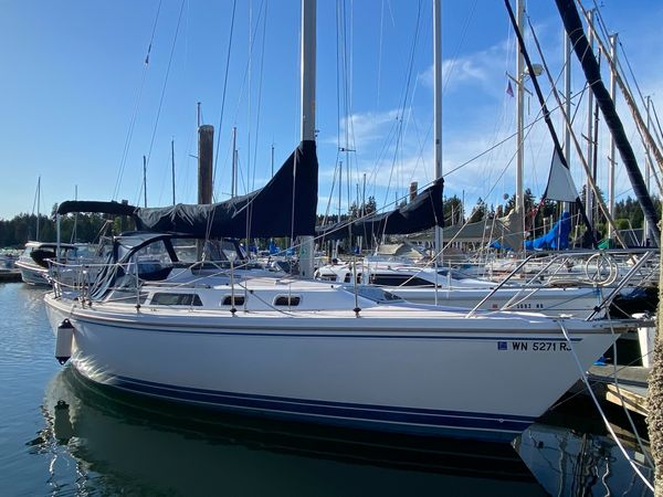 Used Catalina 30' Sloop Sailboat For Sale