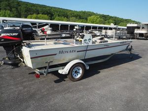 Used Monark Bass & Bay Bass Boat For Sale