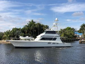 Used Hatteras Enclosed Bridge Convertible Fishing Boat For Sale