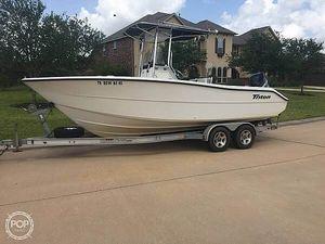 Used Triton 225CC Center Console Fishing Boat For Sale