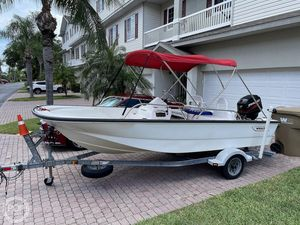 Used Boston Whaler 150 Sport Center Console Fishing Boat For Sale