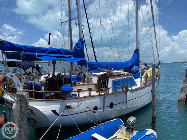 Used Hudson Force 50 Ketch Sailboat For Sale