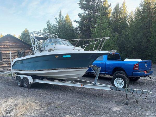 Used Century 2200WA Walkaround Fishing Boat For Sale