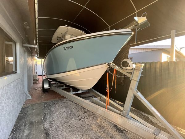 Used Mako 234 CC Saltwater Fishing Boat For Sale