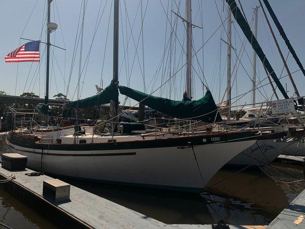 Used Vagabond 42 Ketch Cruiser Sailboat For Sale