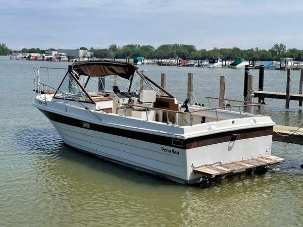 Used Penn Yan 26 Sports Fishing Boat For Sale