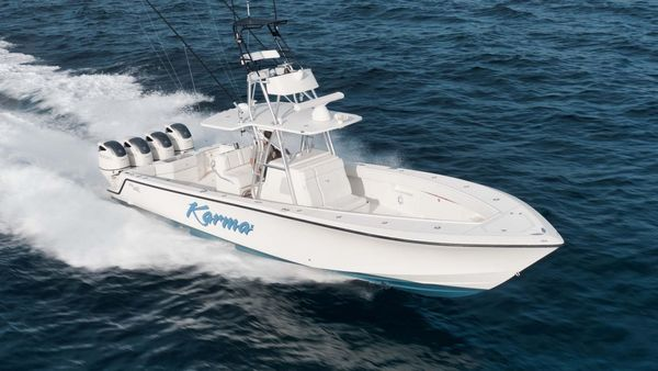 Used Seavee 390Z Center Console Center Console Fishing Boat For Sale