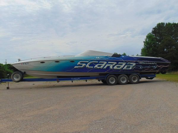 Used Scarab 40 XL Jet Boat For Sale