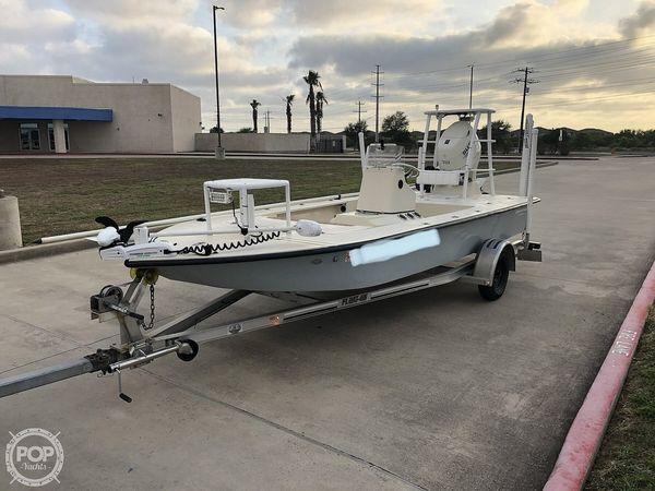 Used Bossman 18 Skimmer Bay Boat For Sale