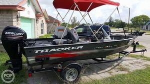 Used Tracker V16-SC Super Glide Aluminum Fishing Boat For Sale