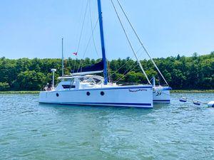 Used Moxie M37 Island Hopper Catamaran Sailboat For Sale