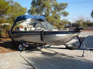 Used Crestliner Superhawk 1600 Aluminum Fishing Boat For Sale