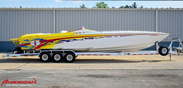 Used Cigarette 38 Top Gun TS High Performance Boat For Sale
