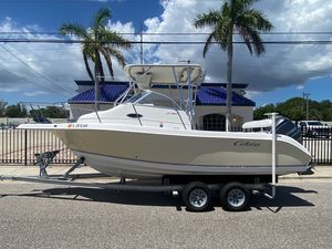 Used Cobia 230 WA Center Console Fishing Boat For Sale