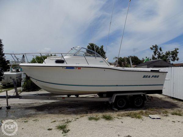 Used Sea Pro 235 WA Walkaround Fishing Boat For Sale
