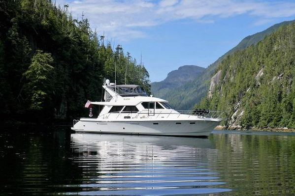 """Used Symbol """"55"""" Pilothouse Motor Yacht For Sale"""