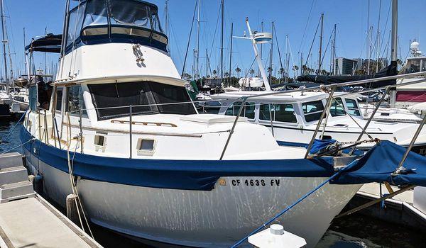 Used Gulfstar 36 MK II Trawler Boat For Sale
