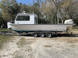 Used Custom 30' Work/Utility Pusher Utility Boat For Sale