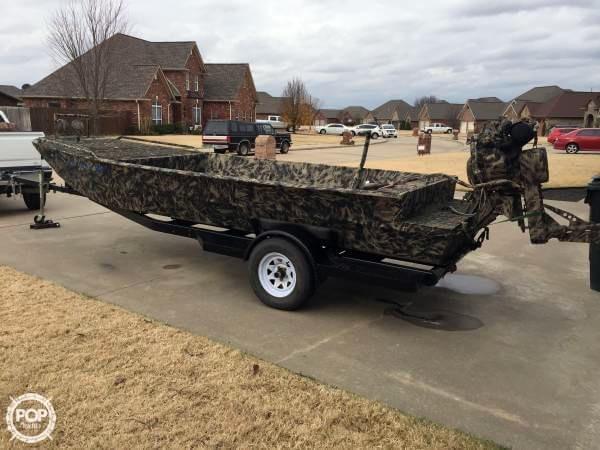 Used Wc Custom 19x48 Aluminum Fishing Boat For Sale