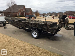 Used Wc Custom 19x48 Aluminum Fishing Boat For Sale