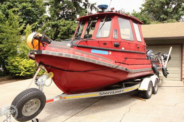 Used Usia 22 Aluminum Fishing Boat For Sale