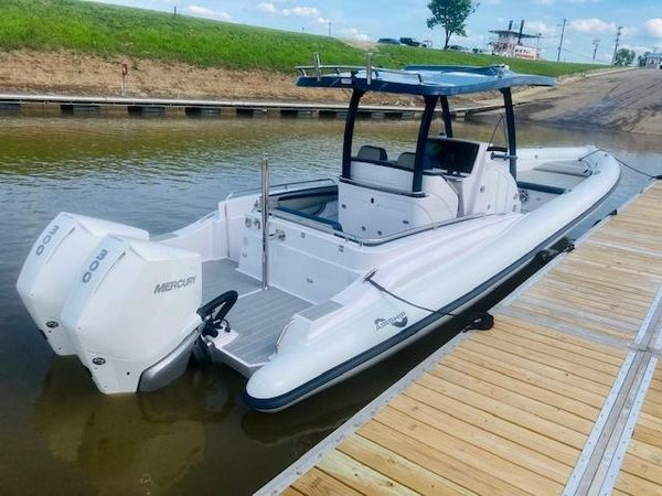 Used Airship 340 Center Console Fishing Boat For Sale