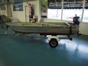 Used Crestliner CV1256 Utility Boat For Sale