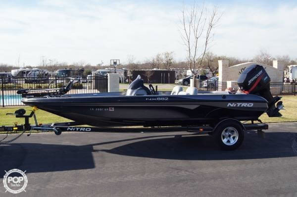 2004 used nitro nx 882 bass boat for sale 14 500 for Stock fish for sale texas