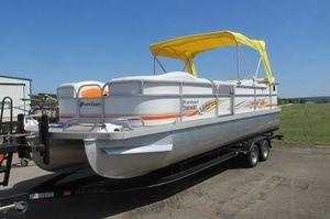 Used Playcraft 2400 Powertoon Pontoon Boat For Sale