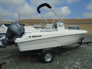 New Wellcraft 162 Fisherman Center Console Fishing Boat For Sale