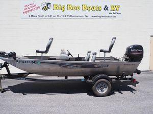 Used Lowe Stryker 16 Freshwater Fishing Boat For Sale