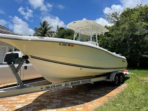 Used Triton 2690 CC Saltwater Fishing Boat For Sale