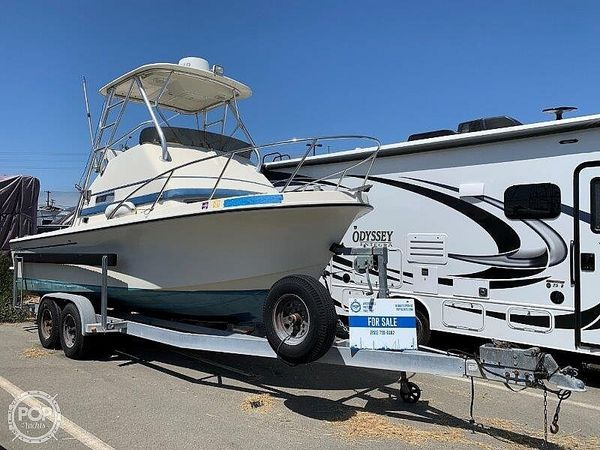 Used Skipjack 24 Flybridge Sportsfisher Walkaround Fishing Boat For Sale