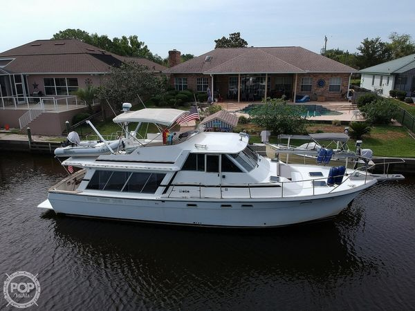 Used Bayliner 4550 Pilothouse Aft Cabin Boat For Sale