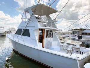Used Henriques 38 Flybridge Convertible Fishing Boat For Sale
