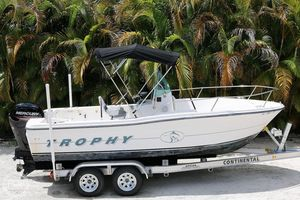 Used Trophy 1903 Center Console Fishing Boat For Sale