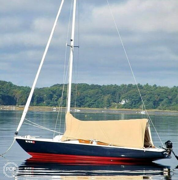 Used Ensign 22 Sloop Sailboat For Sale