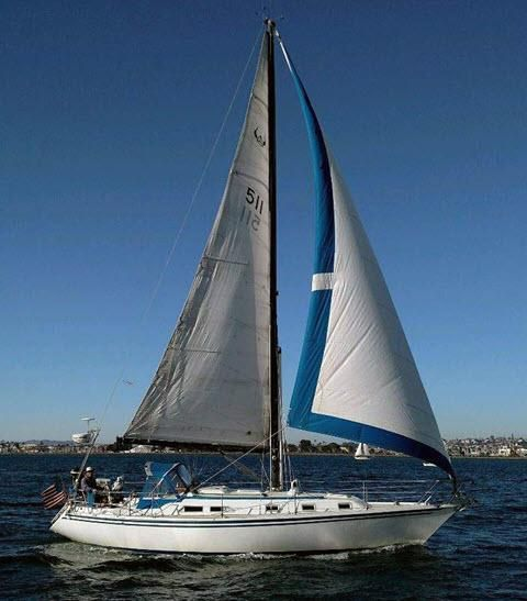 Used Ericson 381 Racer and Cruiser Sailboat For Sale