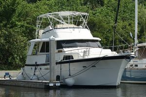 Used Hatteras 53 Yacht Fisherman Convertible Fishing Boat For Sale