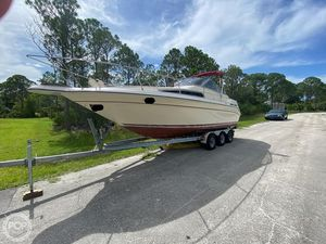 Used Sea Ray Sorrento 25 Sundancer Walkaround Fishing Boat For Sale