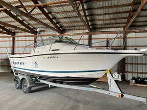 Used Bayliner 2052 Trophy Walkaround Saltwater Fishing Boat For Sale