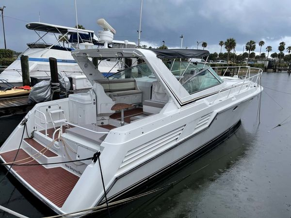 Used Trojan 12 Meter Express Cruiser Boat For Sale