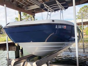 Used Yamaha 210 FSH Center Console Fishing Boat For Sale