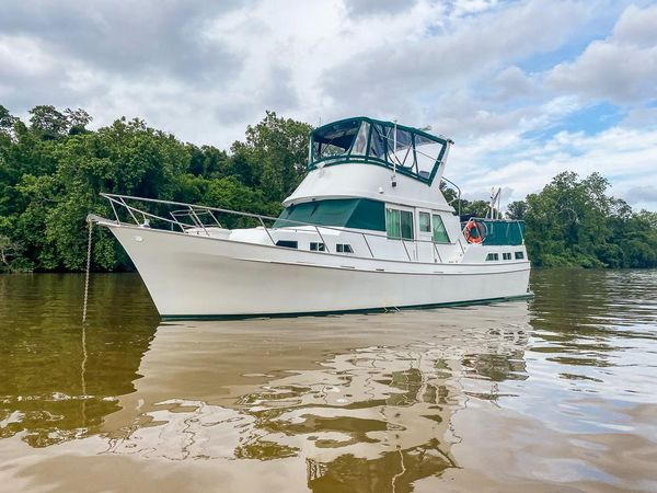 Used Trawler Treworgy Yachts LRC Trawler Boat For Sale