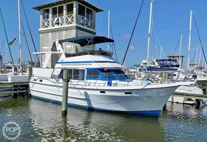 Used Chb Present 42 Sundeck Trawler Boat For Sale