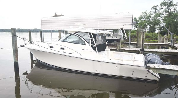 Used Pursuit 375 Offshore Cuddy Cabin Boat For Sale