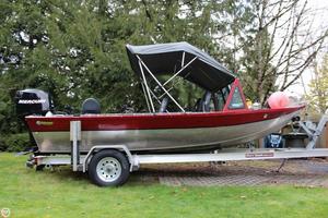 Used Custom Built 18 Aluminum Fishing Boat For Sale
