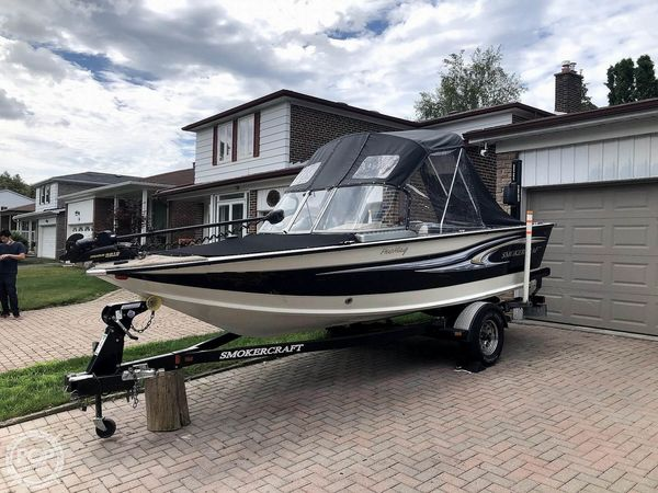 Used Smoker Craft Pro Mag 182 Aluminum Fishing Boat For Sale